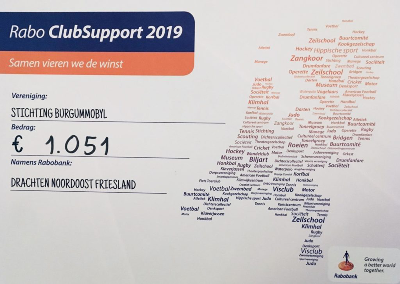 Rabo ClubSupport 2019: € 1.051